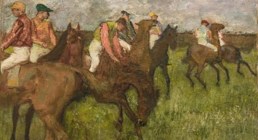 Pengemidlerne til »Jockeys før start« er doneret af Ny Carlsbergfondet og Augustinus Fonden i fællesskab.
