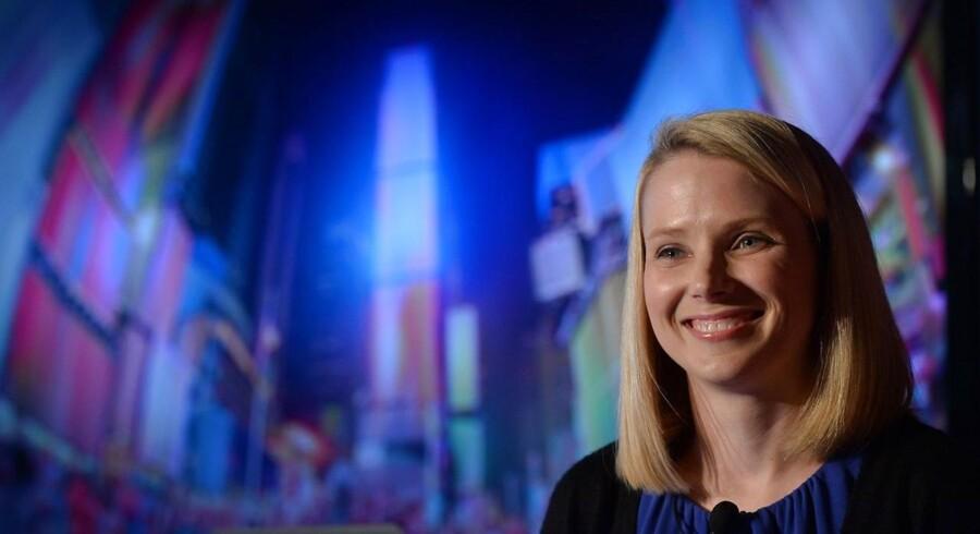Yahoo-topchefen Marissa Mayer er ifølge amerikanske medier på vej ud med indkøbstasken igen. Nu har hun øje på iværksættervirksomheden Xobni. Arkivfoto: Emmanuel Dunand /AFP / Scanpix