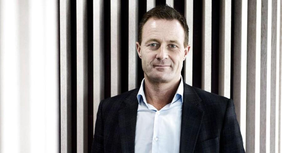 Finansdirektør hos Novozymes, Benny Loft. Arkivfoto.