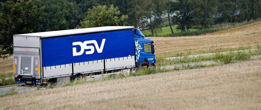 DSV lastbiler.