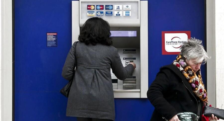Op mod 6 milliarder kroner kan være stjålet, efter at hackere i to år har haft adgang til computere i flere banke verden over. Foto: Alkis Konstantinidis, Reuters