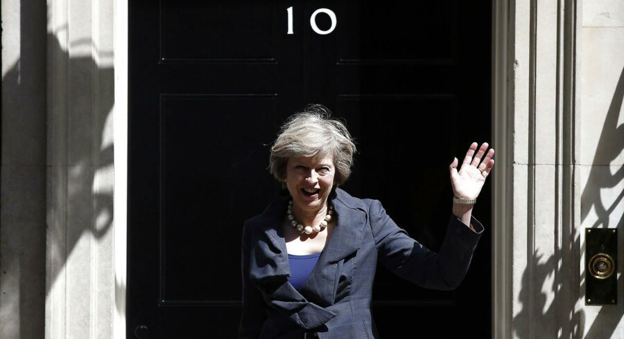 PLUS-historie. Valget af Theresa May som ny premierminister har givet det britiske pund et nøk opad.