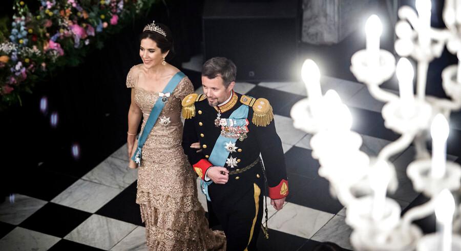Kronprinsesse Mary og H. K. H. kronprins Frederik.