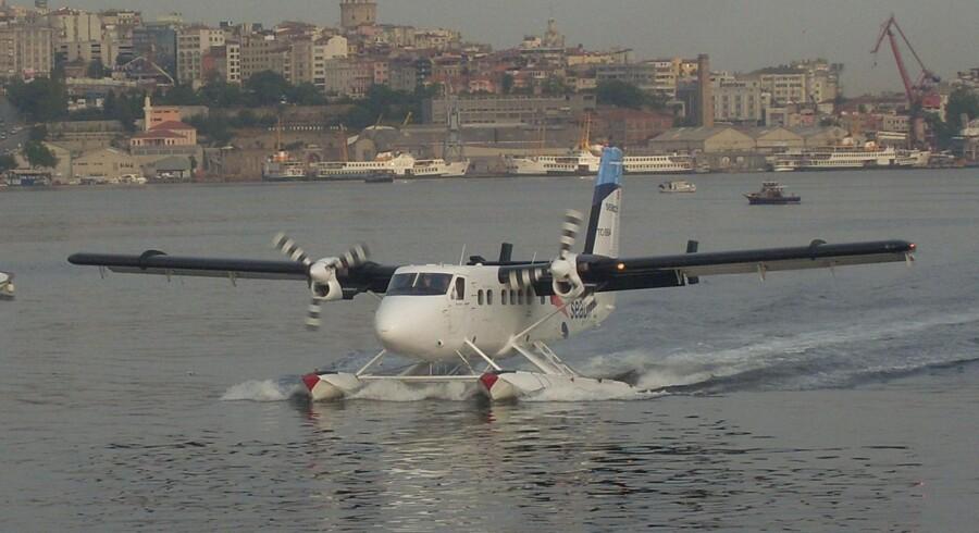 Arkivfoto af en Twin Otter-vandflyvemaskine. Foto: Wikimedia Commons.