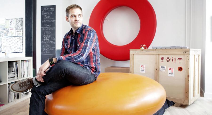 Rasmus Nielsen fandt sit nye job gennem Akademikerkampagnen.