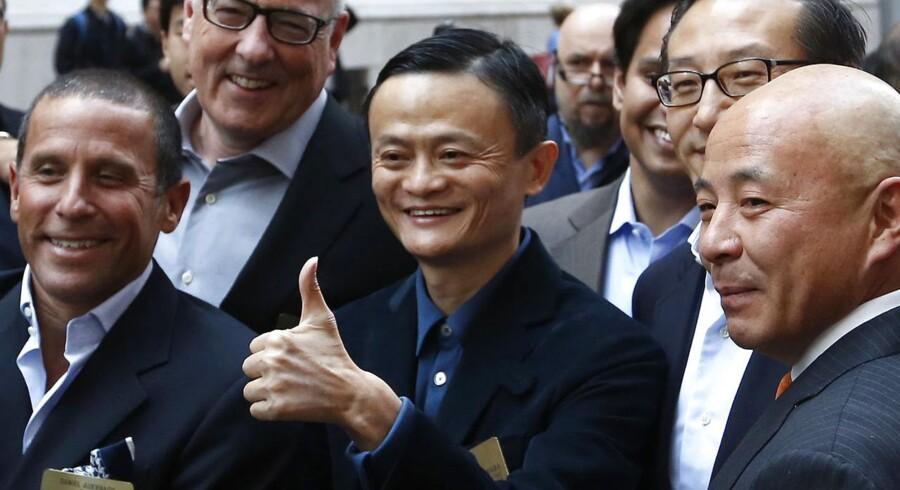 Alibaba-stifteren Jack Ma kan se frem til en flyvende start, når den store kinesiske e-handelsaktie bliver sluppet løs på Wall Street