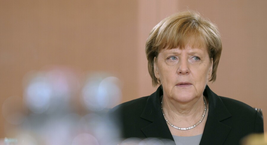 File photo of German Chancellor Angela Merkel arriving for the weekly cabinet meeing in Berlin, Germany, November 11, 2015. People who have witnessed Angela Merkel in private over the past weeks describe a changed woman. Known for tackling the major crises of her chancellorship, from Greece to Ukraine, with the detached sobriety of a scientist, the German leader is showing more emotion of late. She cracks dark jokes about her own fate. For the first time, people in her entourage detect hints of exasperation and even self pity. TO GO WITH GERMANY-MERKEL/ REUTERS/Stefanie Loos/Files