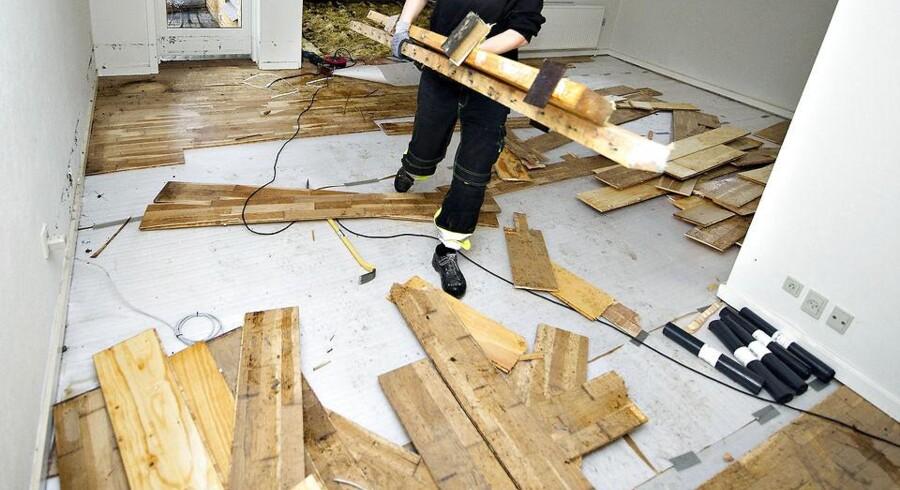 Kan en andelskøber få afslag for en »dårlig forbedring« af gulvene?