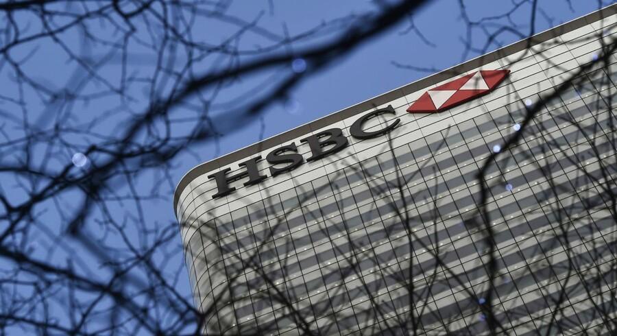 Europas største bank HSBC Holdings oplever underskud.