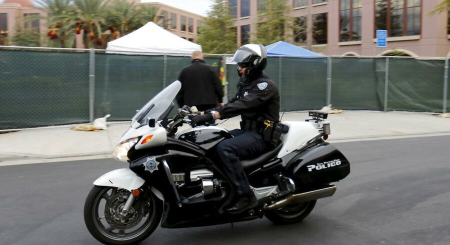 Politiet i Fresno, Californien kan lynhurtigt trusselsvurdere borgere - eksempeltvis i forbindelse med 911-opkald. Arkivfoto.