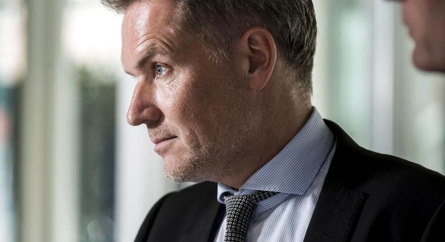 Wupti.com sælges til Dansk Supermarked, Pressemøde. Niels Thorborg, 3c Retail sælger Wupti til Dansk Supermarked. ©2015 Palle Peter Skov