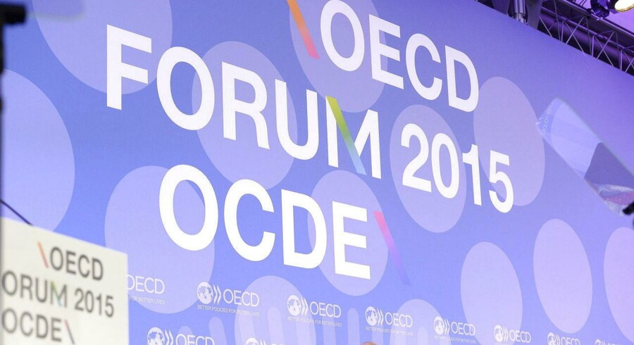 Organisationen for økonomisk samarbejde og udvikling, OECD, venter nu en global vækst på 3,1 pct. i år og 3,8 pct. i 2016. ARKIVFOTO