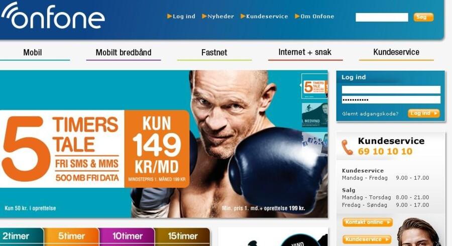 Lars Bom tæsker videre mod de store teleselskaber for Onfone, men ingen af dem vil købe rebellen.