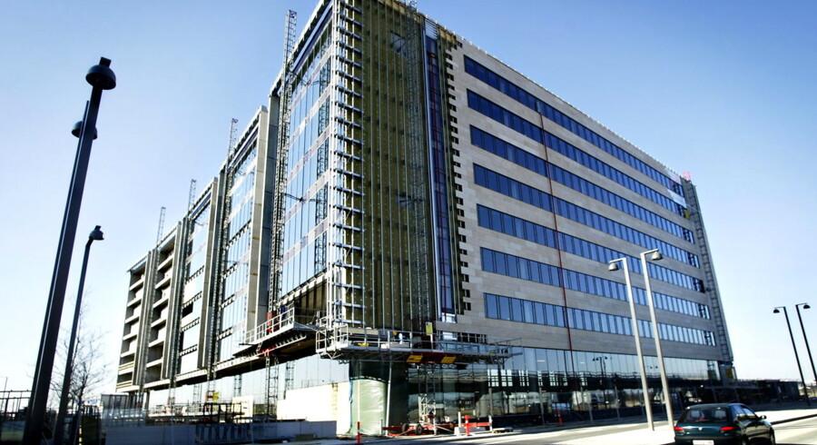 Den norske ejendomsgigant KLP Ejendomme er største private bygherre i Ørestaden. Arne Jacobsens alle.