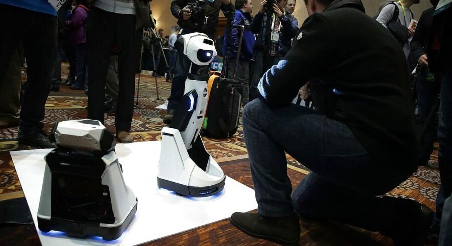 Her fremvises en ny robot-projektor, The Tipron, til CES 2016 i Las Vegas. The Tipron kan findes på markedet i foråret 2016.