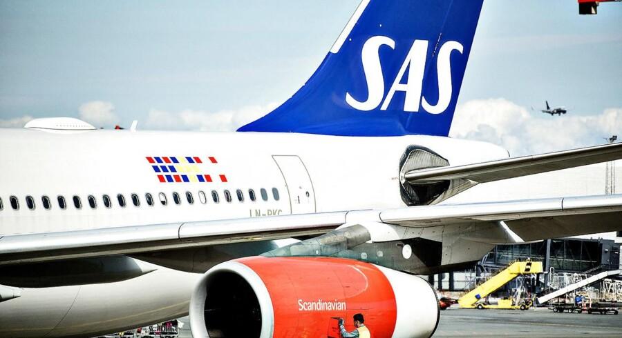 SAS Scandinavian Airlines System Kastrup Lufthavn
