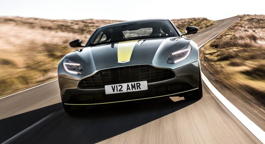 Ekstra hestekræfter og mere dynamik i ny DB11 AMR