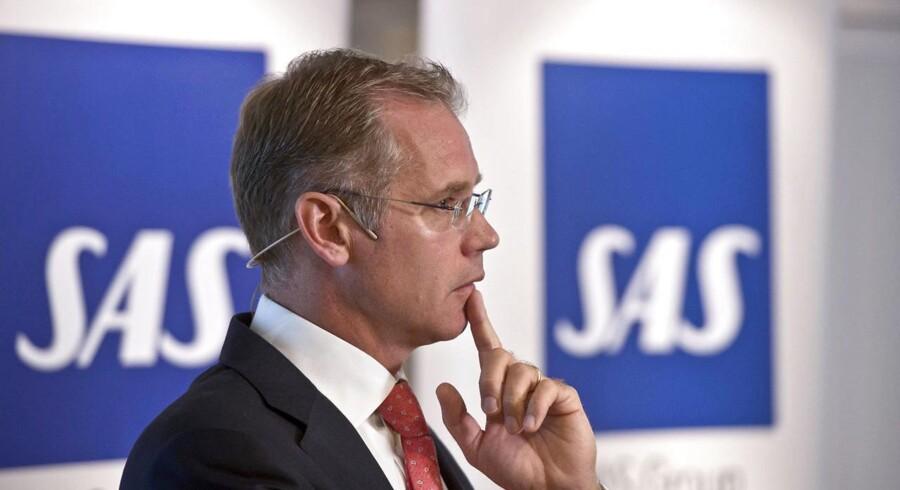 SAS' koncernchef Rickard Gustafson