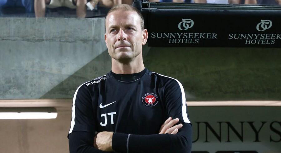 Jess Thorup, FC Midtjyllands træner.