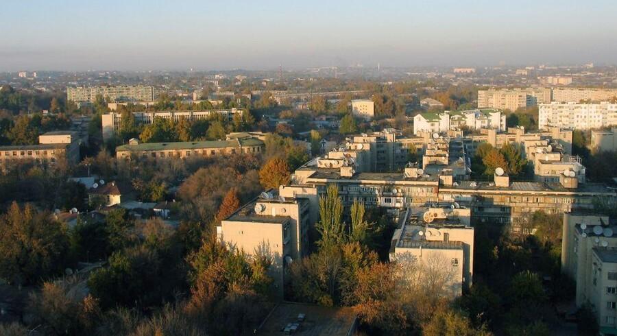 Udsigt over den usbekiske hovedstad, Tasjkent, hvor det delvis Telenor-ejede mobilselskab Vimpelcom opererer. Arkivfoto: Iris/Scanpix