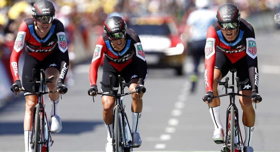 BMC vandt dagens etape i Tour de France.