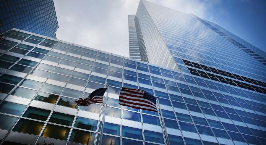 Goldman Sachs hovedkvarter, Manhattan, New York.