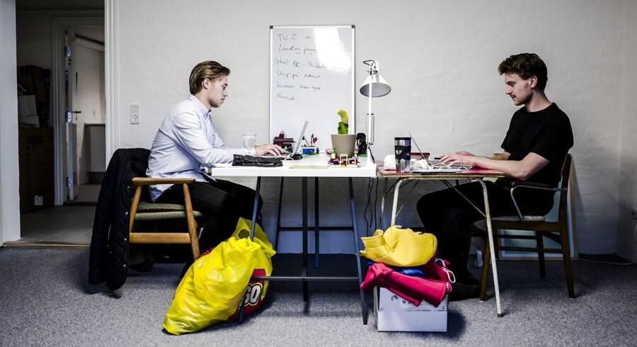 De to sønderjyder, Mikkel Lex Nissen og Steffan Toftelund Dall, vil have os til at dele vores Lego-klodser. Tænk Netflix med Lego-sæt. Det er forretningsmodellen for den deleøkonomiske virksomhed Lej & Leg, som har til huse i Aarhus.