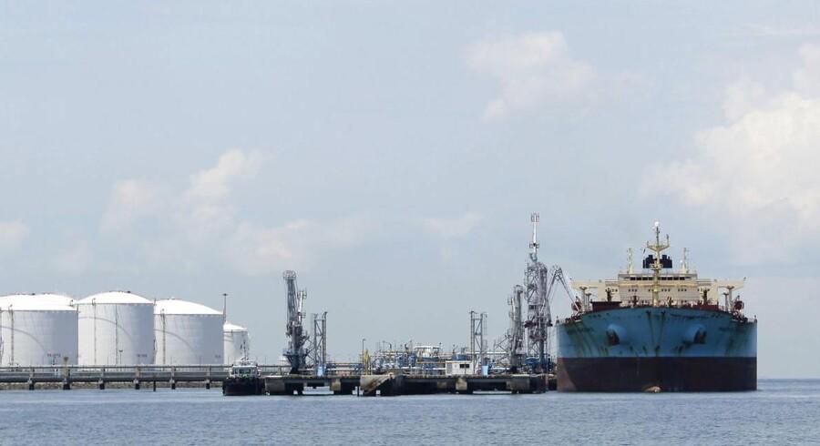 Olieprisen er faldet voldsomt, og det ændrer ved investeringscasen i Mærsk.