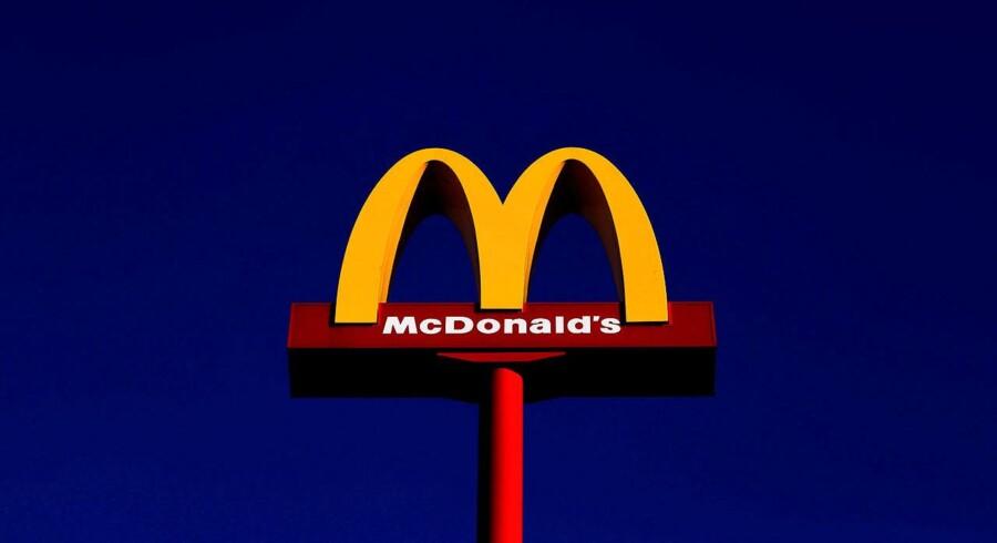 Sent tirsdag aften forsøgte en mand at røve en McDonald's i Haderslev. Han blev anholdt under en time senere.
