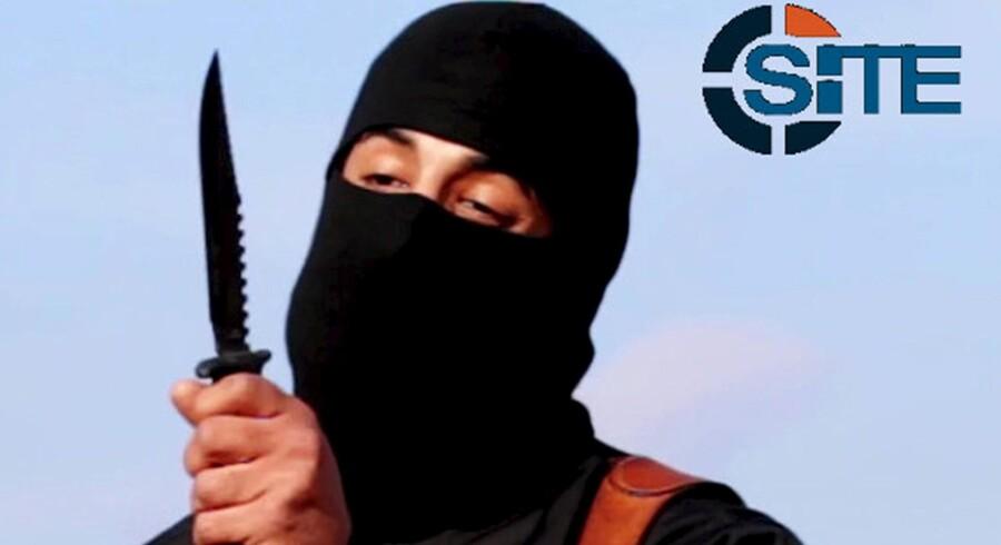 Mohammed Emwazi, kendt som »Jihadi-John«, i en video fra 2014. Foto: Reuters
