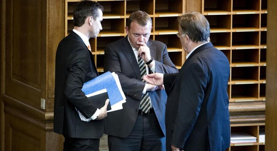 Den nye Venstre-regering er klar med nye finanspolitiske tiltag.