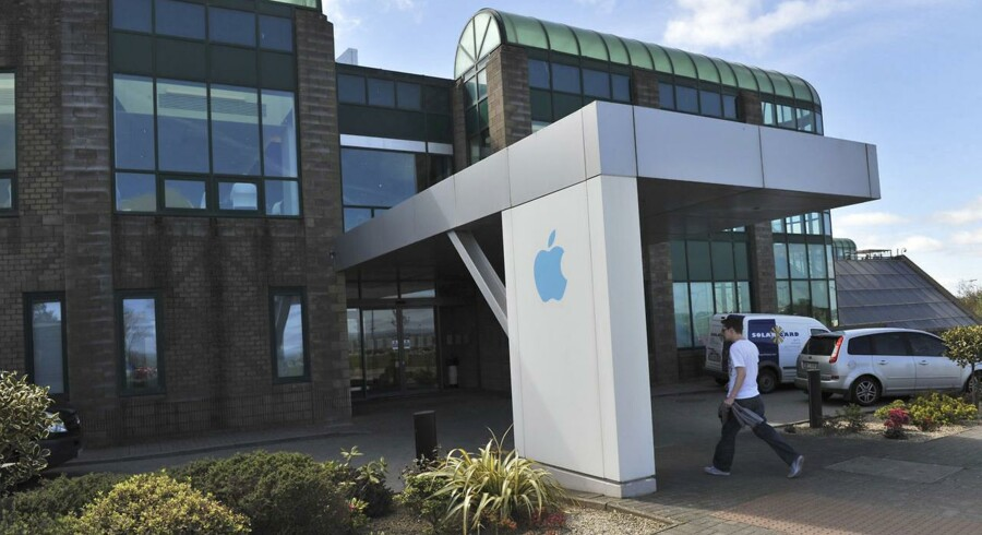 Apple Operations International er Apples europæiske afdeling i Cork i det sydlige Irland. Amerikanske politikere mener, at Apple unddrager sig skat ved at sende store dele af sit overskud hertil. Footo: Michael MacSweeney, Reuters/Scanpix