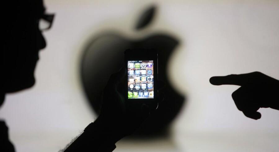 Apple beskyldes for voldsom skatteunddragelse af de amerikanske politikere, som har indkaldt Apples topledelse til afhøring. Arkivfoto: Dado Ruvic, Reuters/Scanpix