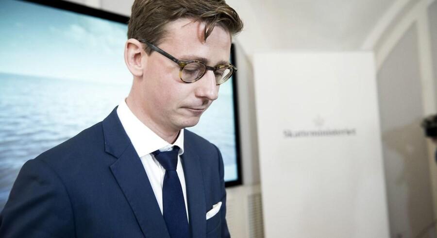Skatteministeren Karsten Lauritzen
