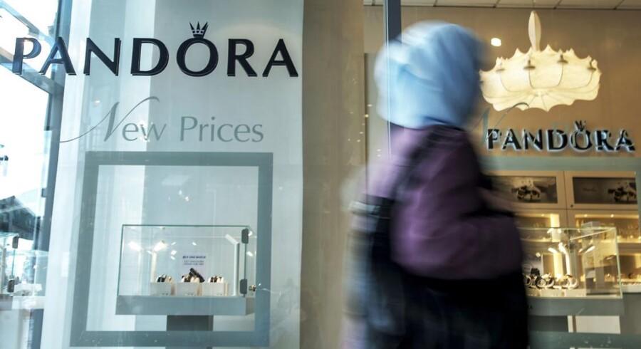 Pandora er den danske C20-aktie, som analytikerne er mest positive stemt over for.