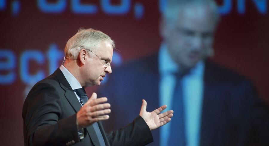 Energiens Dag i Tap 1 i København. CEO hos E.ON, Johannes Teyssen taler på mødet.