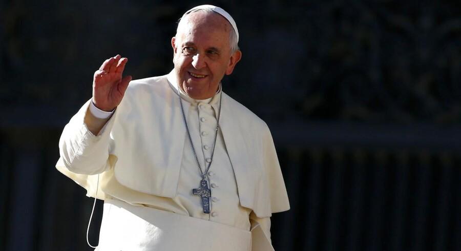 Pave Francis roses for sin rolle i forsoningen mellem USA og Cuba.