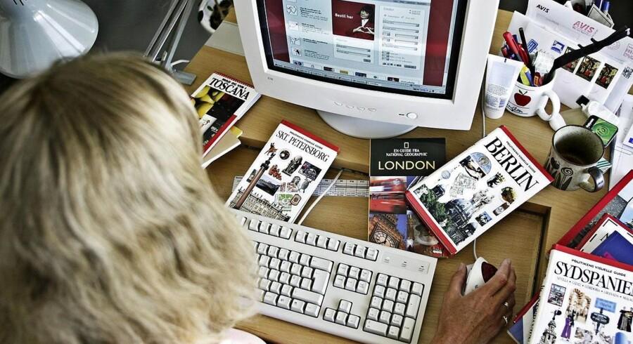 Salg af rejser over nettet er med til at få den danske e-handel til at boome.