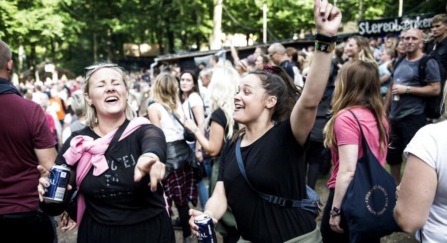 Generelt er vores gæster glade og positive mennesker, der ikke begår overgreb, vurderer festivaltalsmand. (Foto: Sarah Christine Nørgaard/Scanpix 2017)