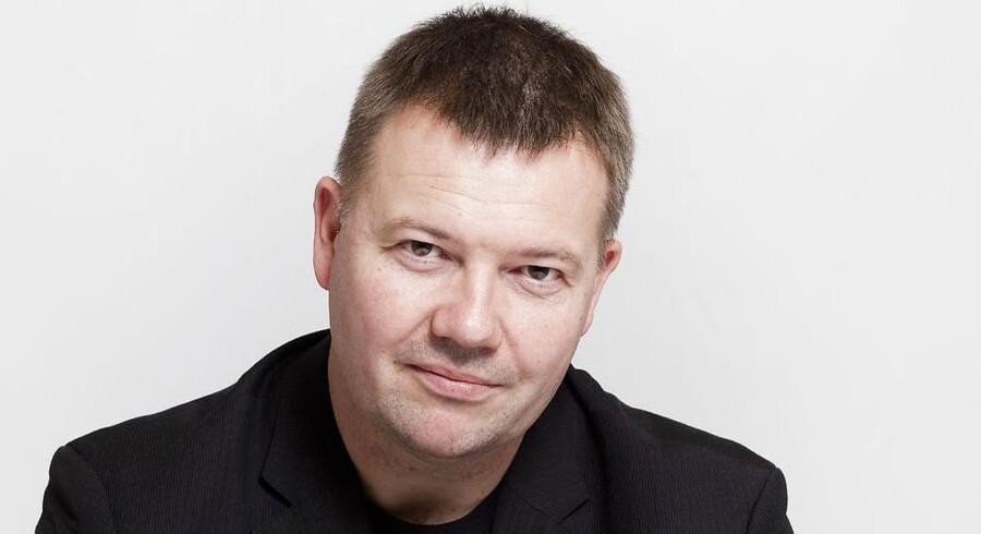 Chefredaktør på Berlingske, Tom Jensen.
