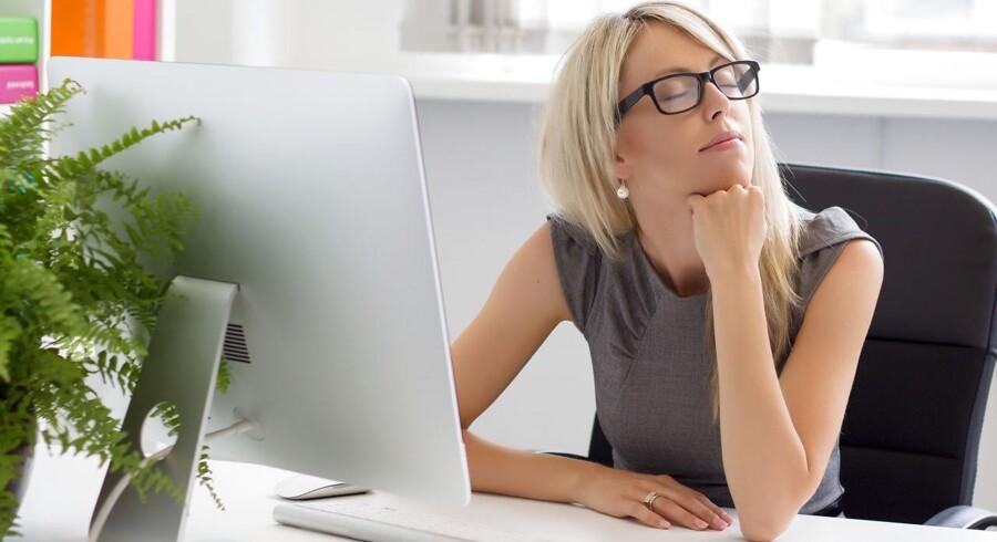 Det er lederens opgave at trække i bremsen, når en medarbejder mister fokus fra jobbet, fordi hun kun kan tænke på ferie.