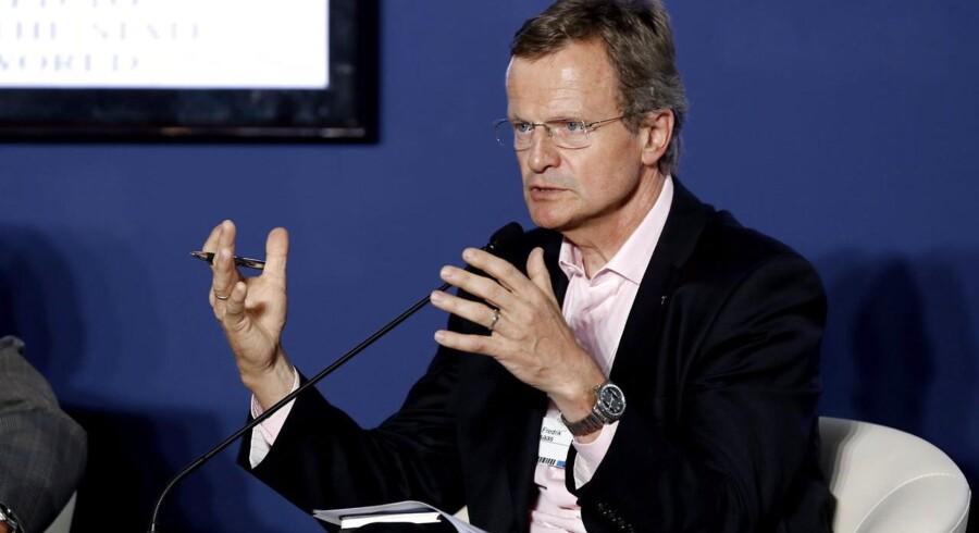 Telenors topchef, Jon Fredrik Baksaas, sikrer gevinsten gennem sine asiatiske operationer. Arkivfoto: Nyein Chan Naing, EPA/Scanpix