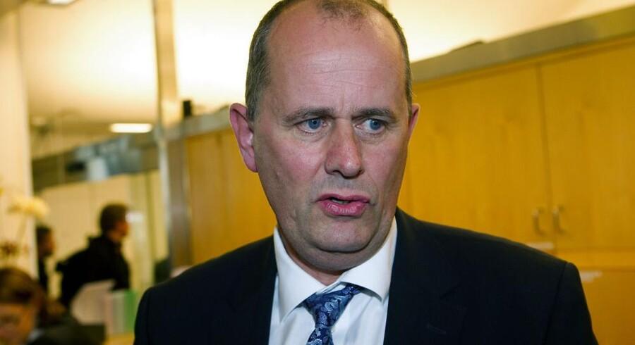 Den svenske stat er storaktionær i Telia, som hører til blandt verdens ti største mobilselskaber. Derfor har finansmarkedsminister Peter Norman indkaldt de øvrige ejere til møde. Arkivfoto: Sven Lindwall, XP/Scanpix