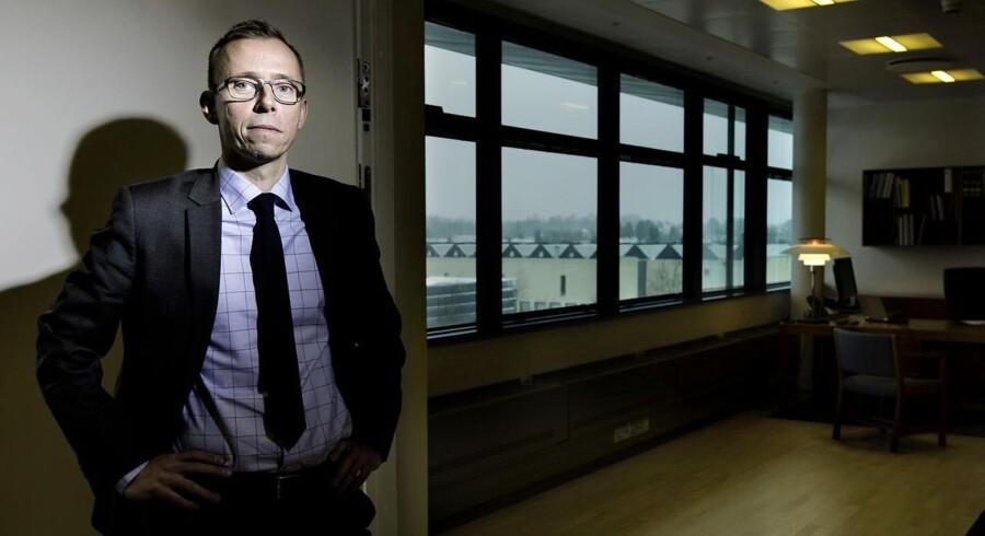 PET-chef Jens Madsen ændrer efterretningstjenestens arbejdsform for at blive mere effektiv over for syrienkrigerne. Arkivfoto.