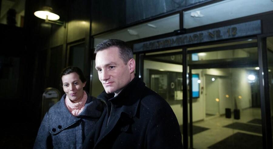 Konservatives Rasmus Jarlov og Mai Mercado.