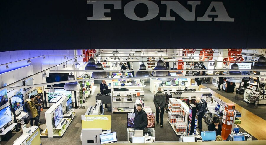 FONA Butikken på Strøget København.