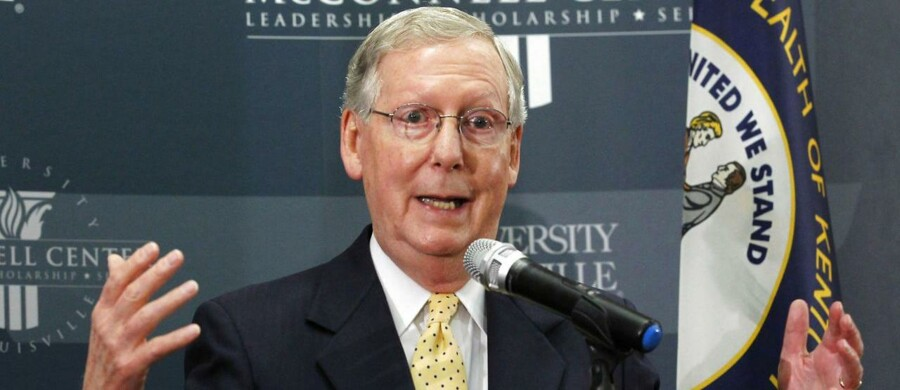 Republikaneren Mitch McConnell