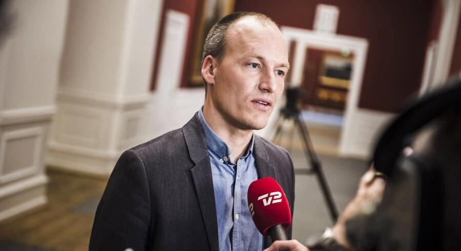 Enhedslistens erhvervsordfører, Pelle Dragsted.
