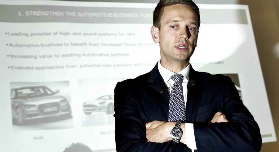 Bang & Olufsens koncernchef Tue Mantoni er nu gået i gang med at trimme Struer-virksomheden. Blandt andet med frasalg af bilstereo-forretningen.