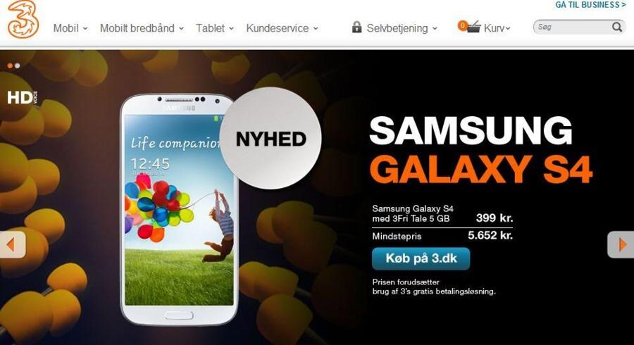 Der er mindst et teleselskab for meget i Danmark, mener »3«s skandinaviske direktør, som ikke nødvendigvis ser »3« som det, der købes op..